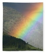 The Colors Of The Rainbow Fleece Blanket