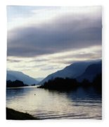The Columbia River  Fleece Blanket