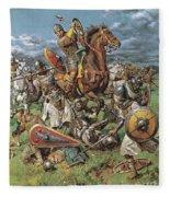 The Coming Of The Conqueror Fleece Blanket