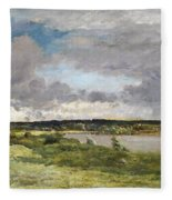 The Coming Storm, Early Spring Fleece Blanket