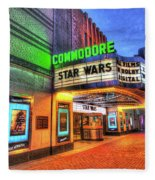 The Commodore Theatre, Portsmouth, Va Fleece Blanket