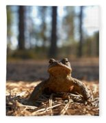 The Common Toad 3 Fleece Blanket