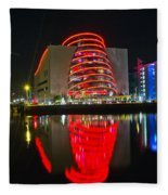 The Convention Centre Reflection Fleece Blanket