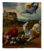 The Conversion Of Saint Paul Fleece Blanket