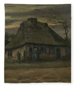 The Cottage Nuenen, May 1885 Vincent Van Gogh 1853  1890  Fleece Blanket