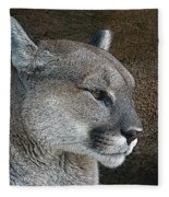 The Cougar Fleece Blanket