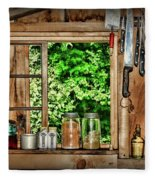 The Country Kitchen Fleece Blanket