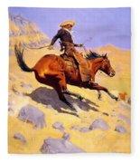 The Cowboy 1902 Fleece Blanket