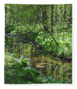 The Creek Fleece Blanket