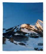 The Crested Butte Fleece Blanket