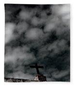 The Cross 1 Fleece Blanket