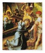 The Cross 1497 Fleece Blanket