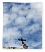 The Cross 2 Fleece Blanket