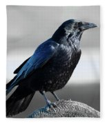 The Crow Fleece Blanket