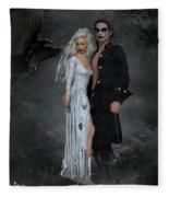 The Crows Wedding Fleece Blanket
