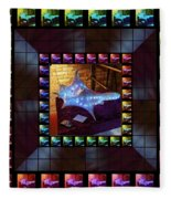 The Crystal Shell - Illuminated Fleece Blanket