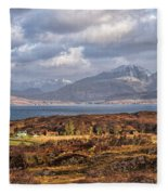 The Cuillin Fleece Blanket