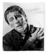 The Curse Of Frankenstein Christopher Lee 1957 Fleece Blanket