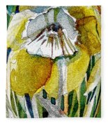 The Daffodil Fleece Blanket