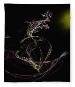 The Dance Fleece Blanket