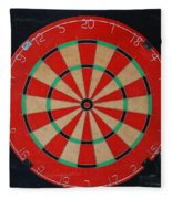 The Dart Board Fleece Blanket