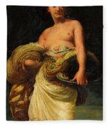 The Daughter Of Herodias, Salome Fleece Blanket