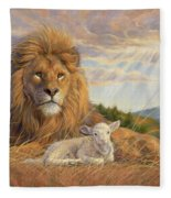 The Dawning Of A New Day Fleece Blanket