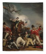 The Death Of General Mercer At The Battle Of Princeton, January 3, 1777  Fleece Blanket