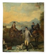 The Death Of The Hare Fleece Blanket