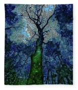 The Deep Wood Fleece Blanket