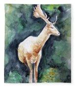 The Deer Fleece Blanket