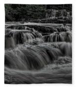 The Dells Of The Eau Claire Panoramic Fleece Blanket