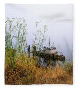 The Derelict Mary D. Hume Fleece Blanket
