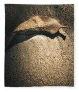The Desert Burial Fleece Blanket