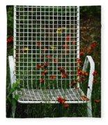 The Devils Chair Fleece Blanket