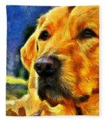 The Dog Fleece Blanket
