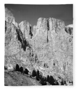 The Dolomites Fleece Blanket