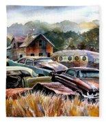 The Donor Cars Fleece Blanket