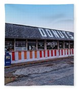 The Donut Shop No Longer 2, Niceville, Florida Fleece Blanket