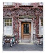 The Dorms At Trinity College Dublin Ireland Fleece Blanket