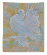 The Dove Fleece Blanket