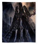 The Dragon Gate Fleece Blanket