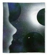The Dream Of Space Fleece Blanket