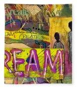 The Dream Trio Fleece Blanket