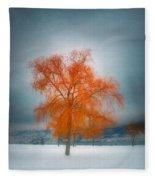The Dreams Of Winter Fleece Blanket