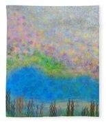 The Dreamy Pond Fleece Blanket