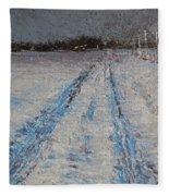 The Drive Home Fleece Blanket