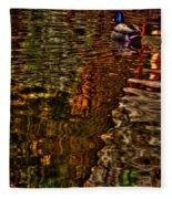 The Duck Pond Fleece Blanket