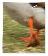 The Duck Strut Fleece Blanket