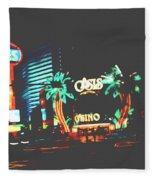 The Dunes Casino Fleece Blanket